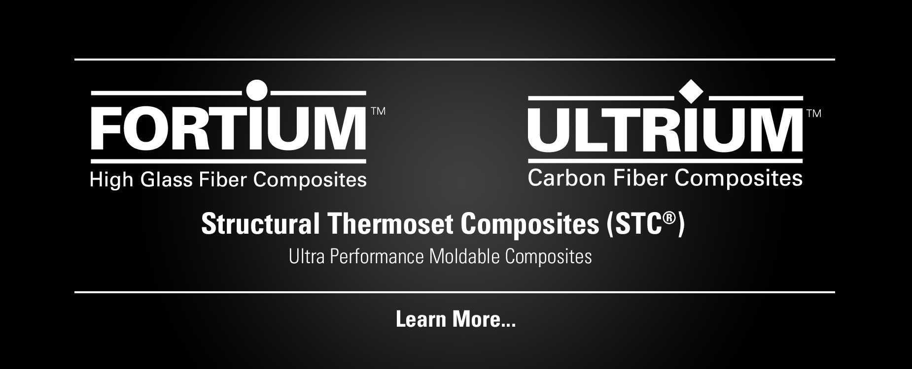 Fortium & Ultrium Structural Thermoset Composites