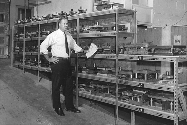 John Merrell in Early IDI facility